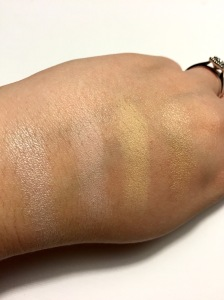 NYX Highlighting Swatches