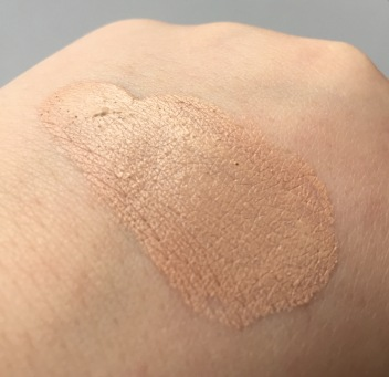 Final Swatch-Completely Dry