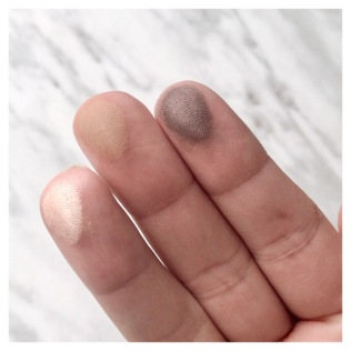 Smoke Balm Palette Finger Swatches