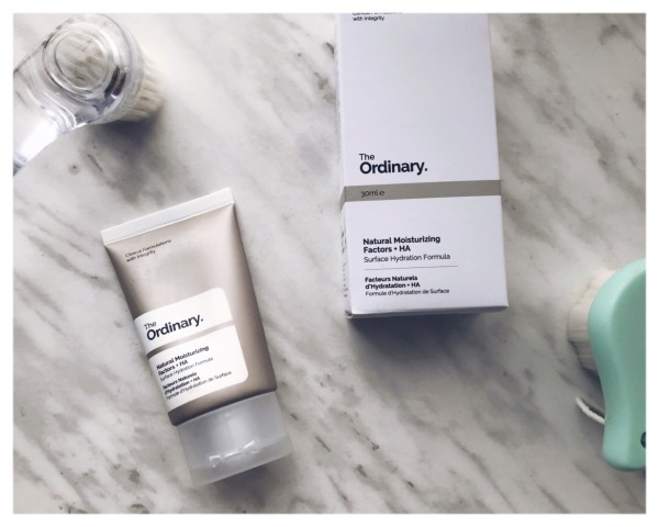 The Ordinary NMF and HA Moisturizer